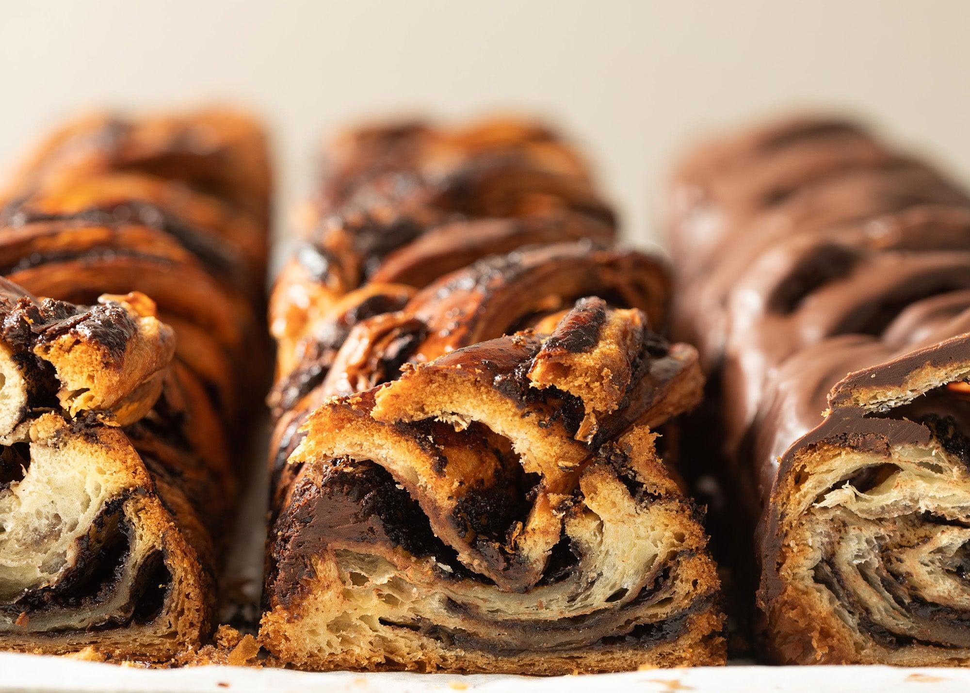 Chocolate babka at Bakey