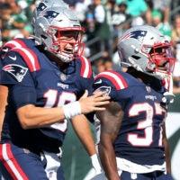Patriots celebrate