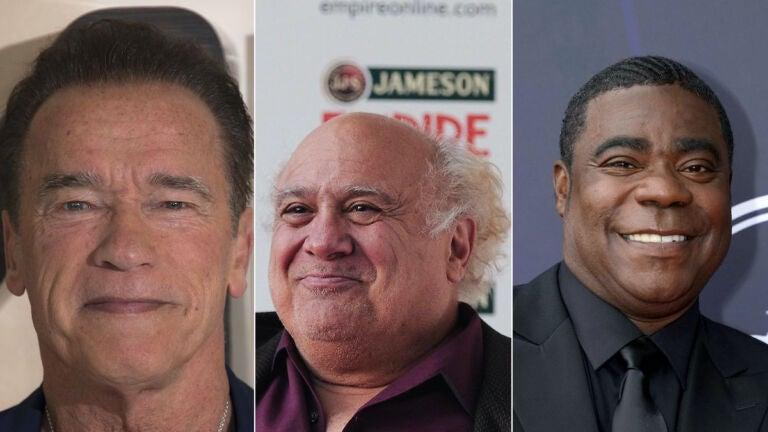 Arnold Schwarzenegger Danny DeVito Tracy Morgan Twins
