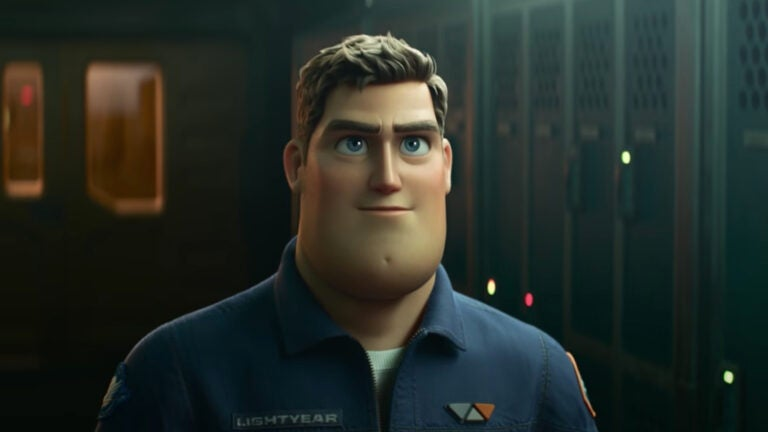 Chris Evans Buzz Lightyear Disney movie