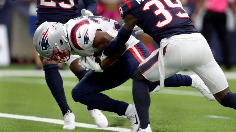 Patriots fumbling