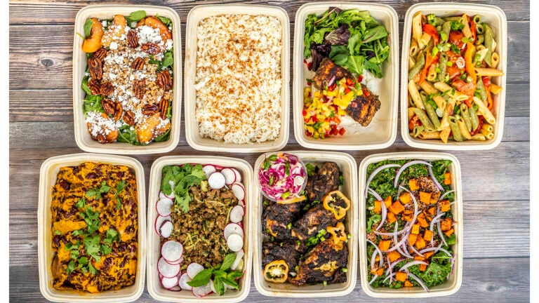 Prepared meals from Fresh Food Generation
