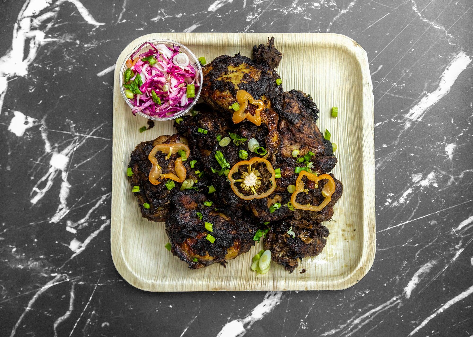 Jerk chicken at Fresh Food Generation