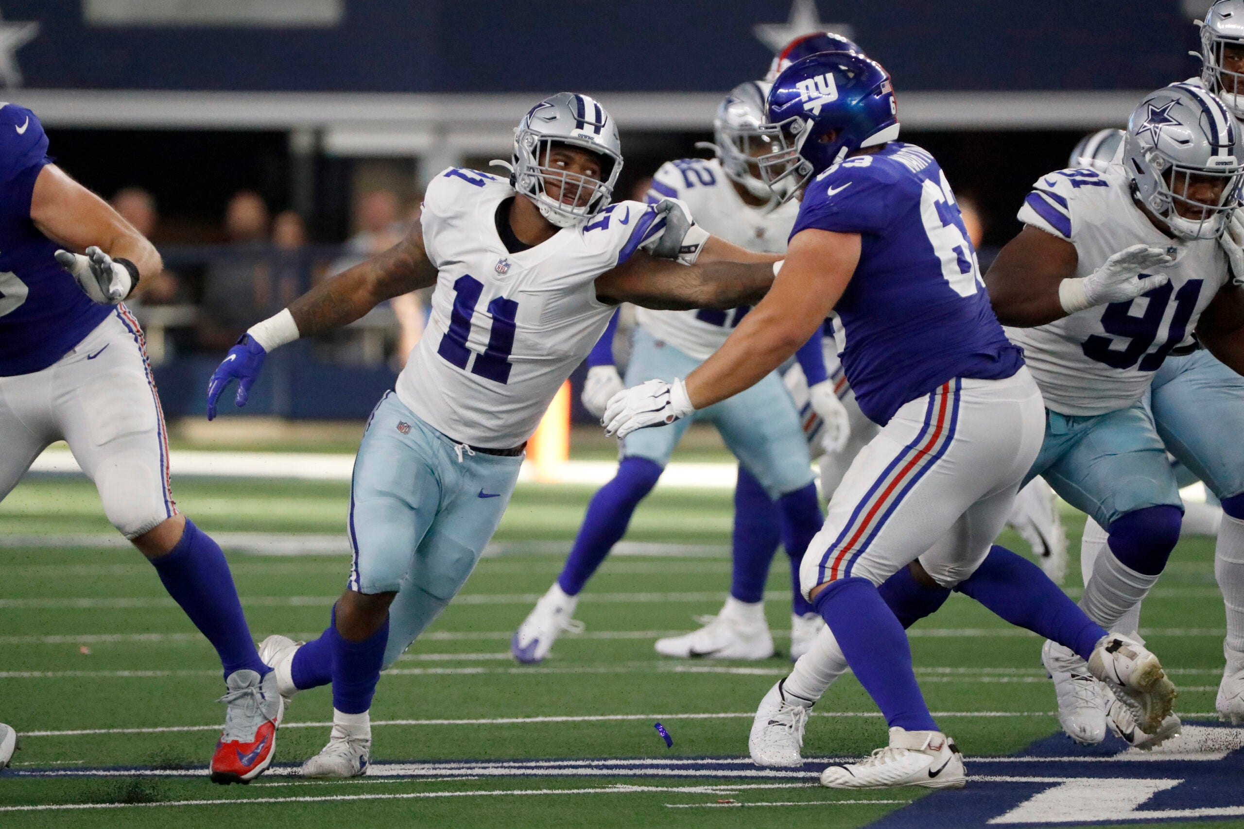 4 Cowboys players to watch against the Patriots