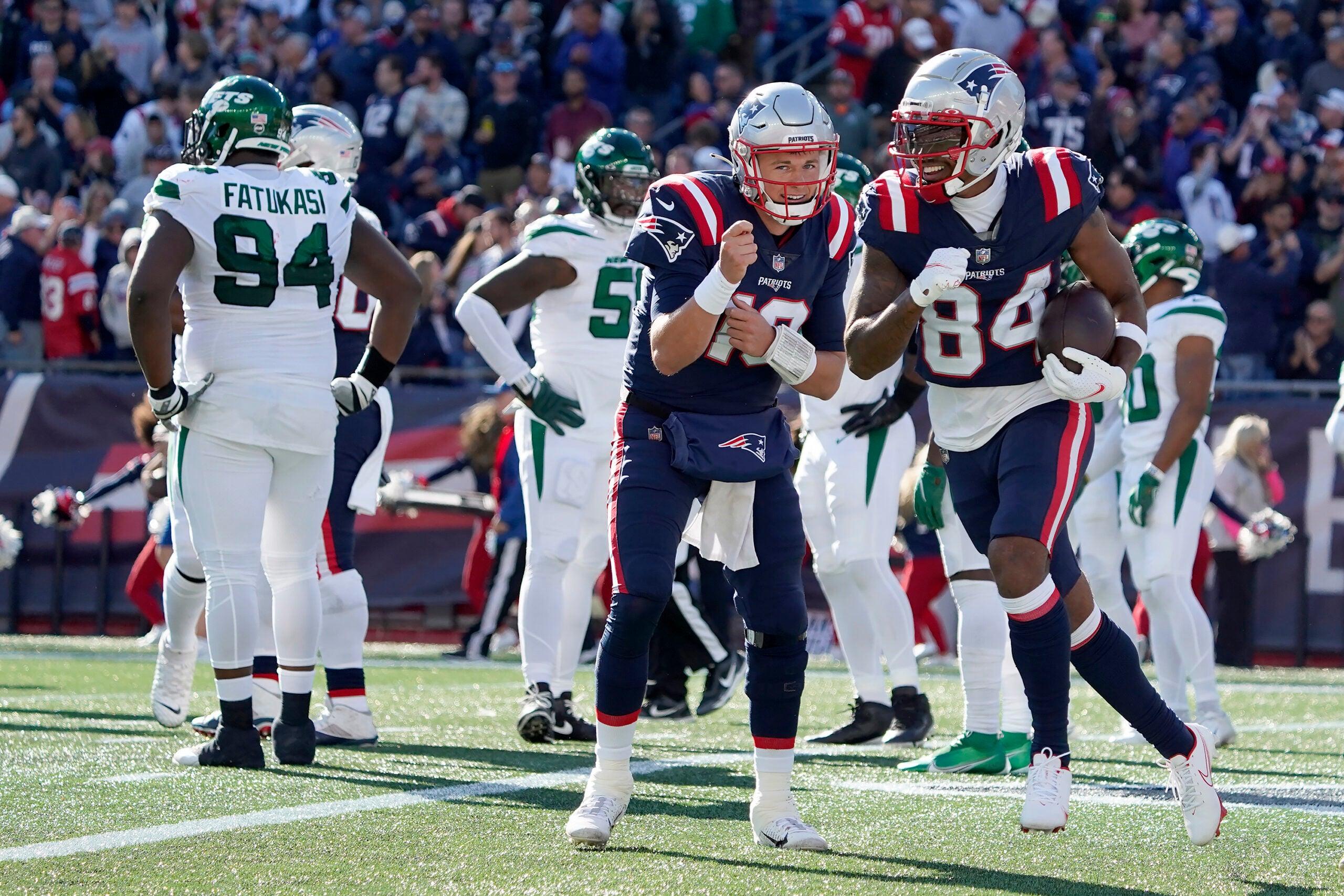 Patriots Jets score