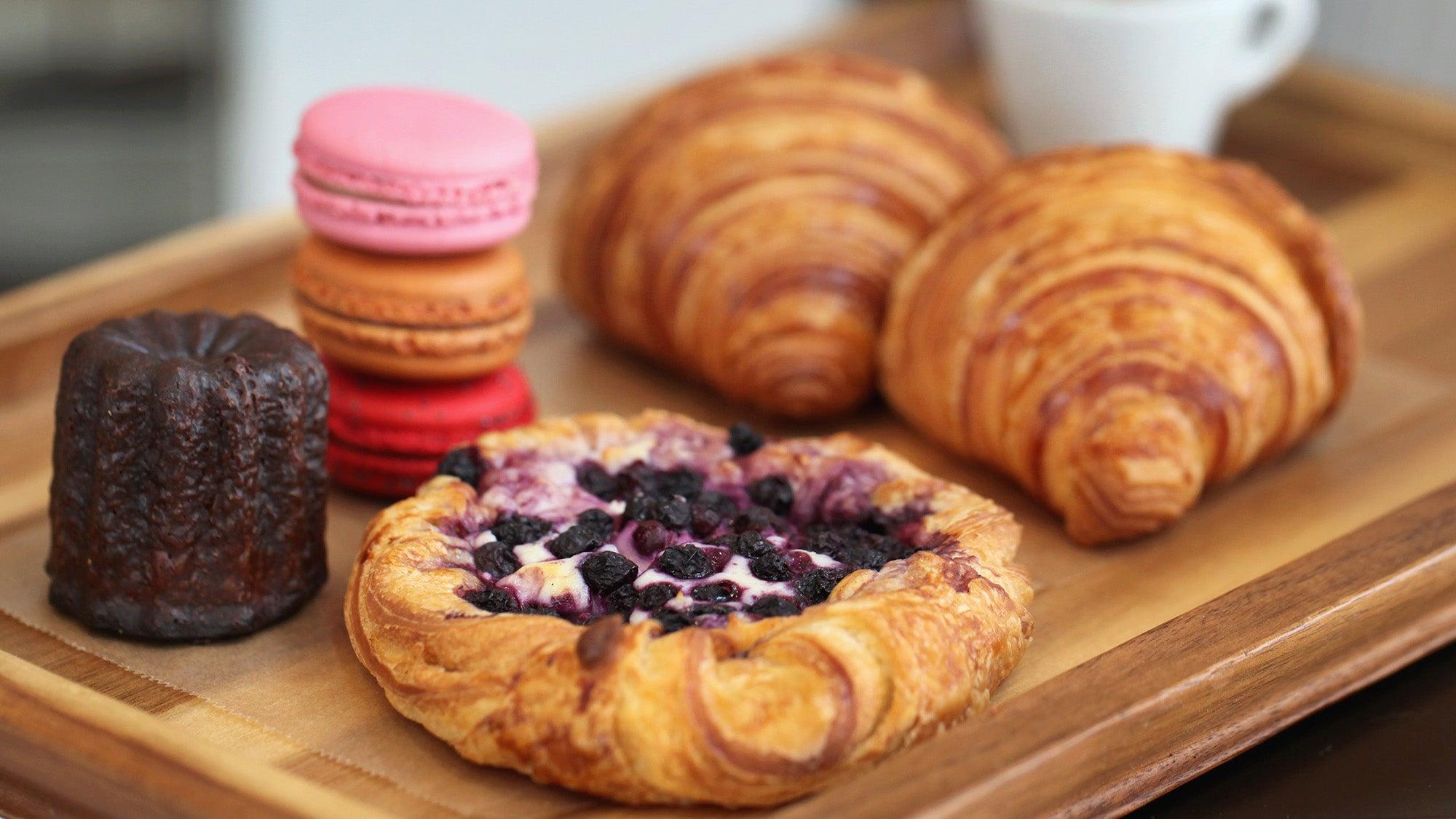 Pastries at Café Madeleine