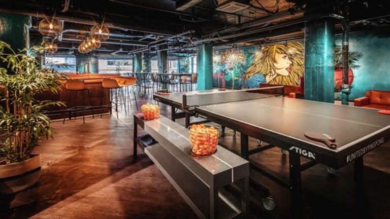 SPIN, a ping pong social club