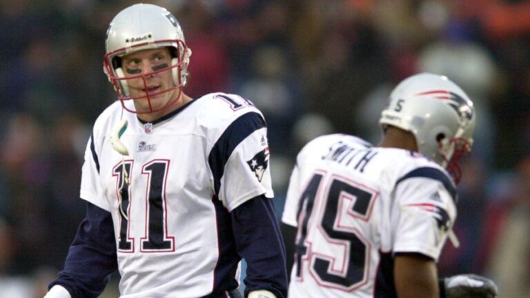 Drew Bledsoe Patriots