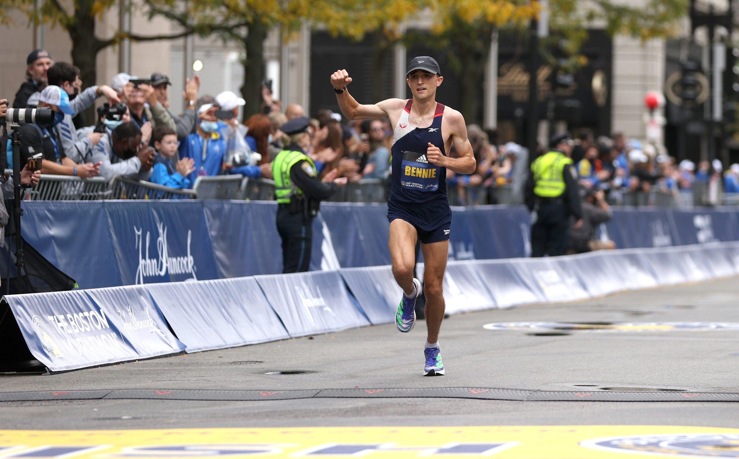 Colin Bennie Boston Marathon