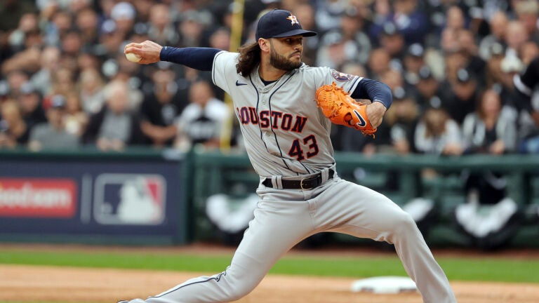 Lance McCullers Jr. Astros Red Sox ALCS