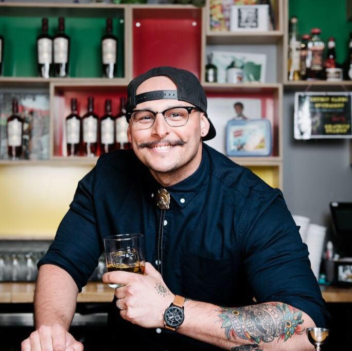 Meet the bartender at Silvertone, the downtown 'cocktail bar disguised as a dive bar'