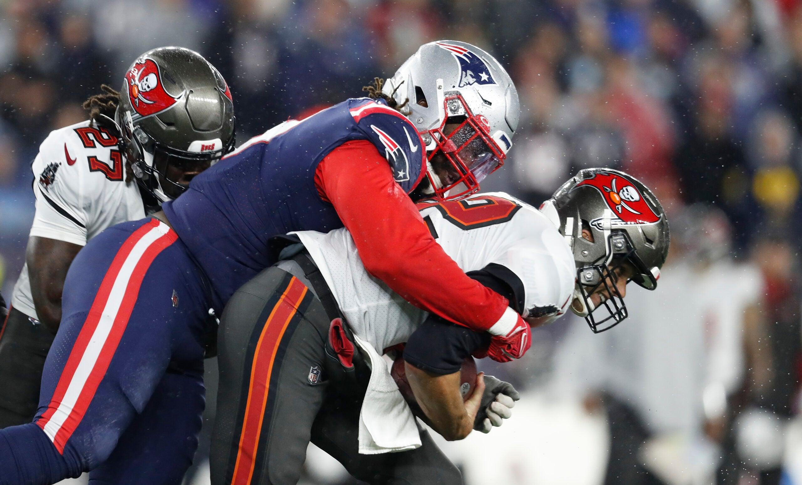 Patriots Tom Brady Matthew Judon